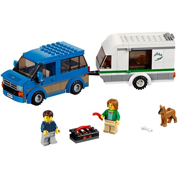 Lego City Van & Caravan