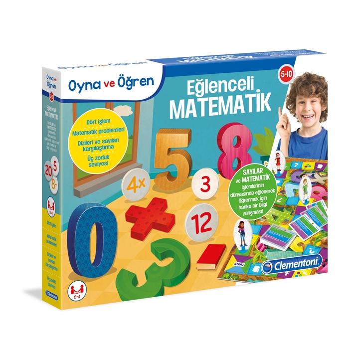 Clementoni Oyna ve Öğren Eğlenceli Matematik