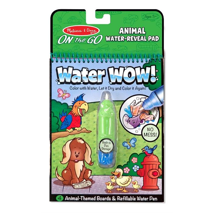 Melissa and Doug Water Wow! Su ile Boyama Kitabı - Hayvanlar