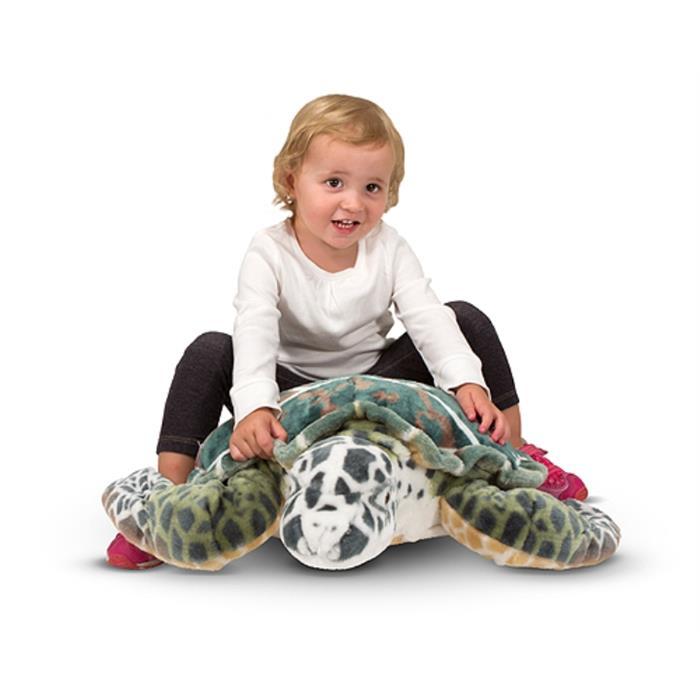 Melissa and Doug Dev Peluş Deniz Kaplumbağası