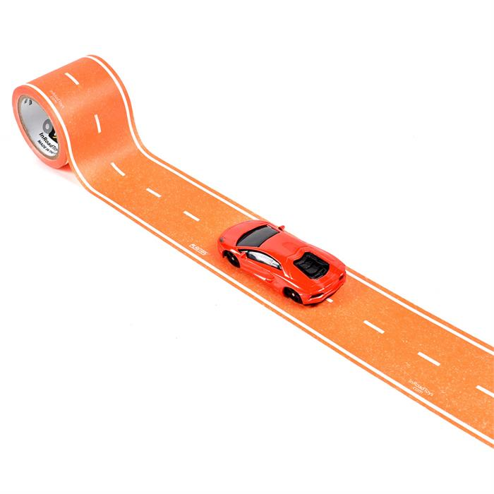 PlayTape Klasik Yol Serisi 15ft x 2inç - Turuncu