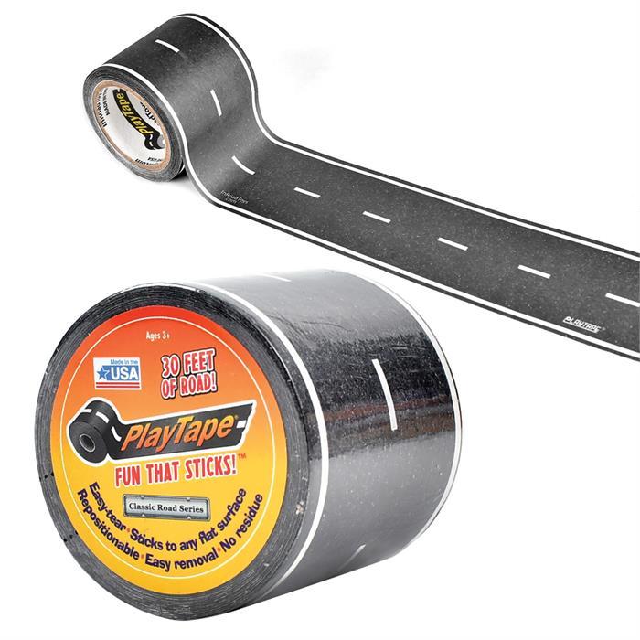 PlayTape Klasik Yol Serisi 30ft x 2inç - Siyah