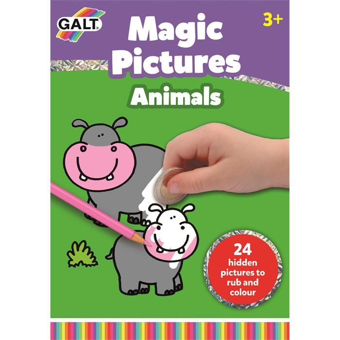 Galt Sihirli Resimler Hayvanlar (Magic Pictures Animals)