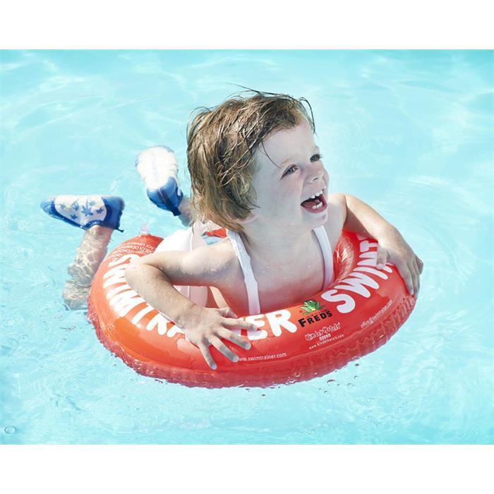 Swimtrainer Yüzme Simidi - Kırmızı (3Ay-4Yaş)