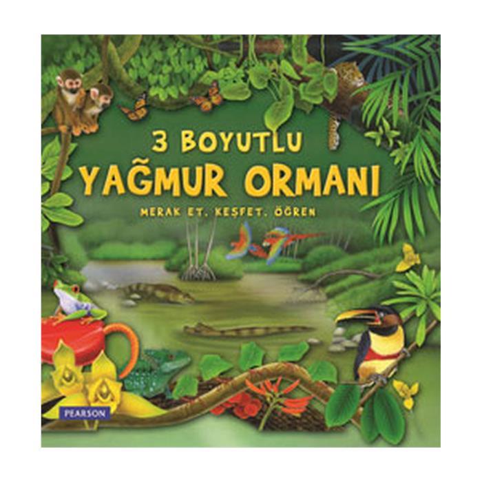 3 Boyutlu Kitap - Yağmur Ormanı