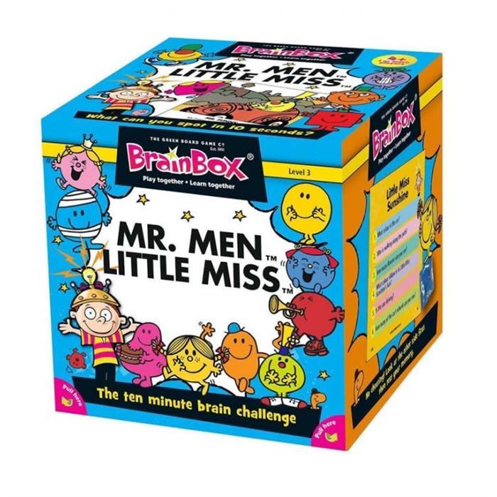 BrainBox Mr. Men Little Miss (İngilizce)