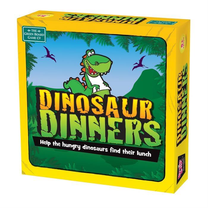 BrainBox Dinozorun Yemeği (Dinosaur Dinners) (İngilizce)