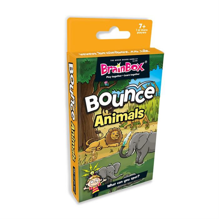 BrainBox Seksek Hayvanlar (Bounce Animals) (İngilizce)