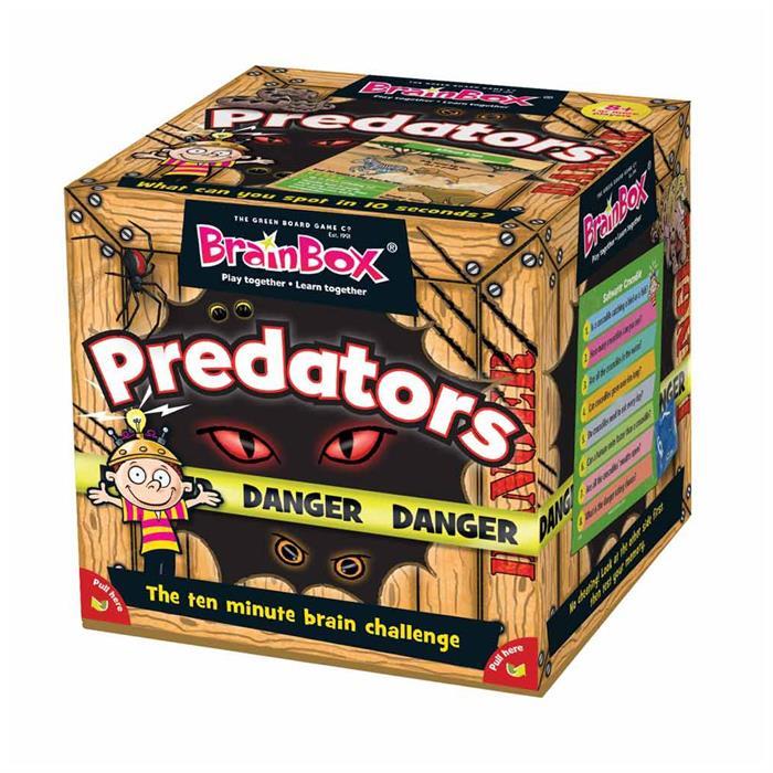 BrainBox Yırtıcı Hayvanlar (Predators) (İngilizce)
