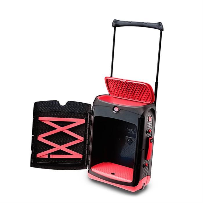 Trunki Jurni Çekçekli Valiz - Kırmızı