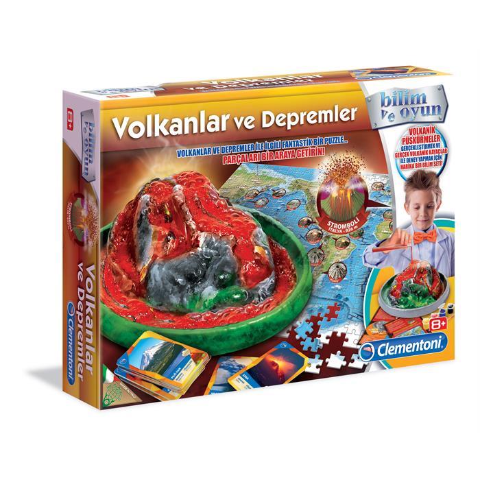 Clementoni Deney Seti - Volkanik Patlama