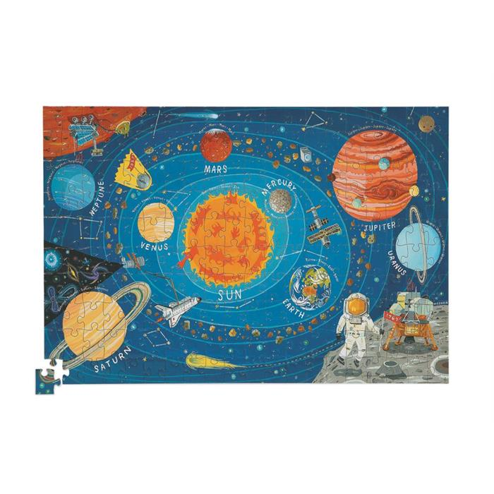 Crocodile Creek Poster Puzzle - Uzay