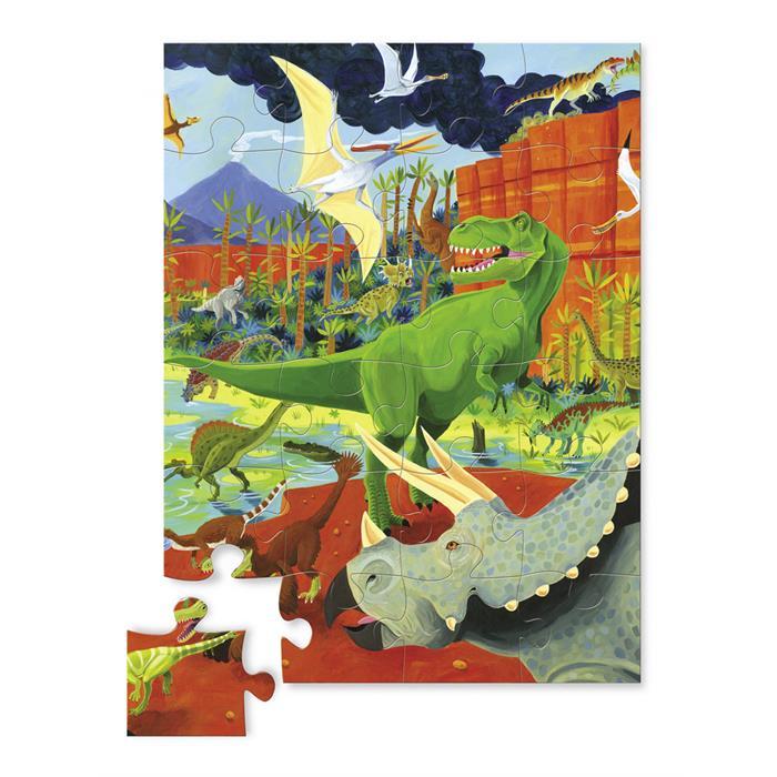 Crocodile Creek 24 Parça Puzzle - Dinazor Adası