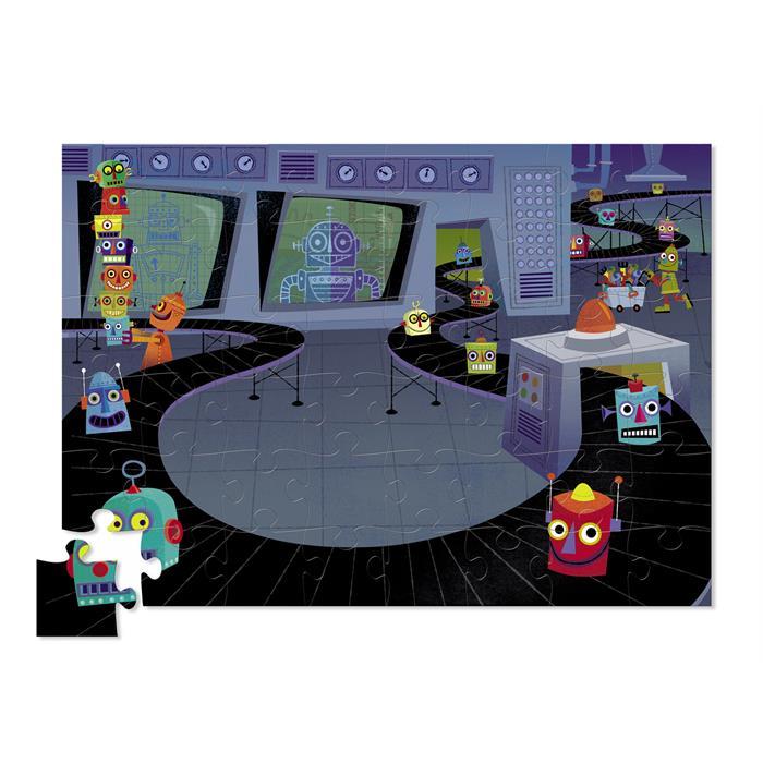 Crocodile Creek Tasarım Puzzle - Robot