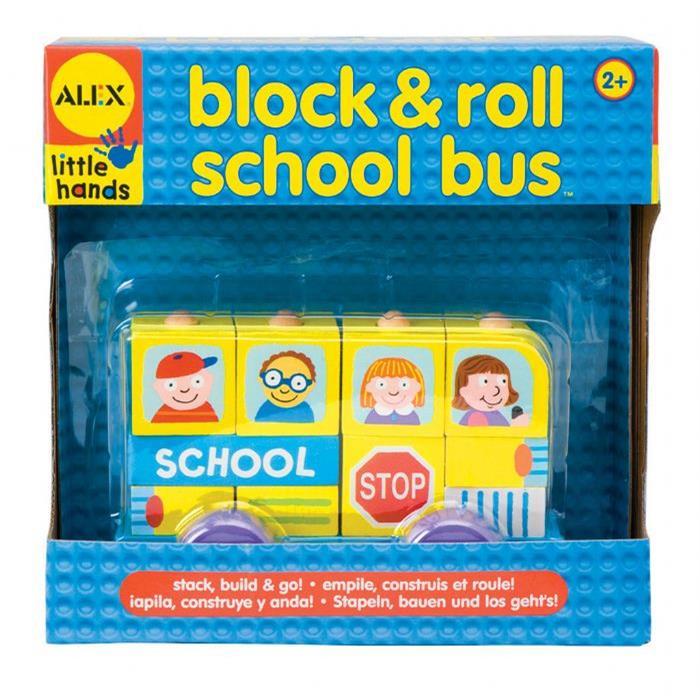Alex Ahşap Bloklar & Okul Otobüsü