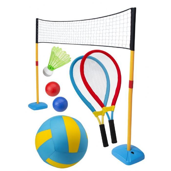 Alex 1 Set 3 Oyun & Badminton/Tenis/Voleybol