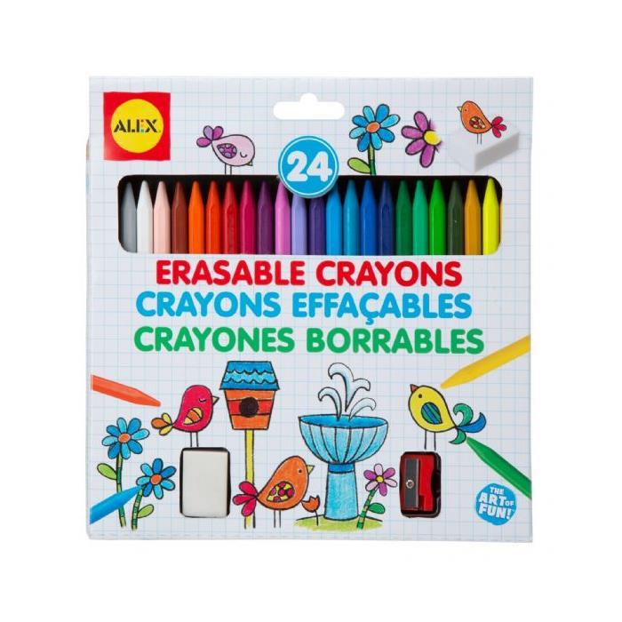 Alex Silinebilir Renkli Boya Kalemi(24)