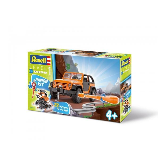 Revell Junior Kit - Off Road Jeep