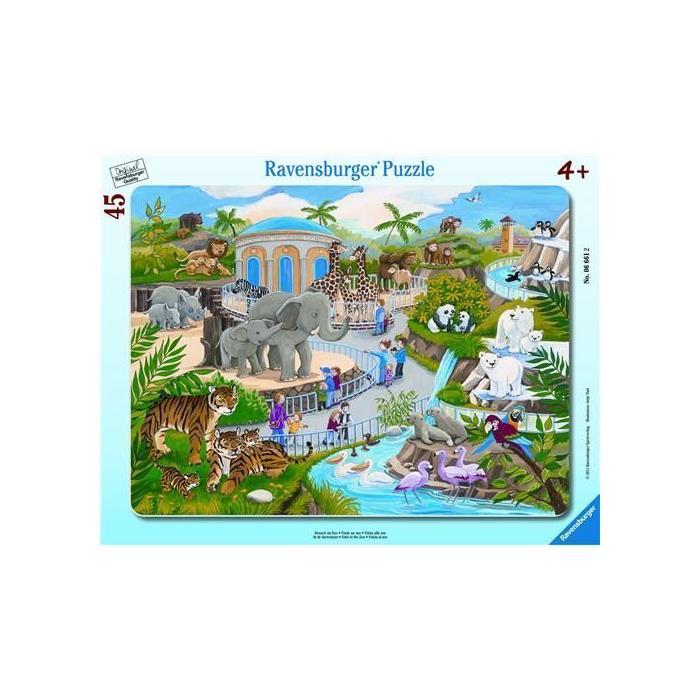 Ravensburger Hayvanat Bahçesi - 45 Parça B. Çerçeveli