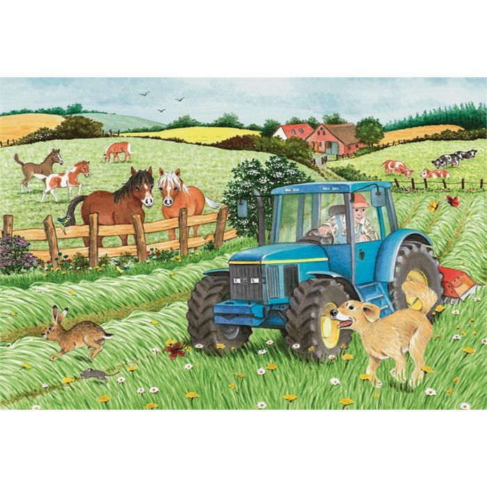 Ravensburger Çiftlik - 2x24PPuzzle