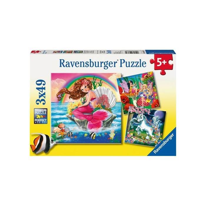 Ravensburger Hayali Dostlar - 3x49 Parçalı