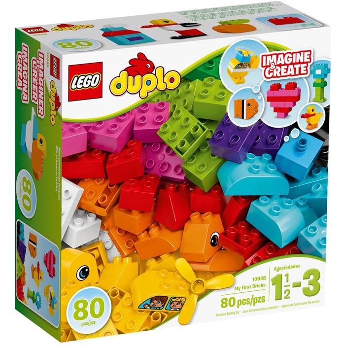 Lego Duplo İlk Yapım Parçalarım