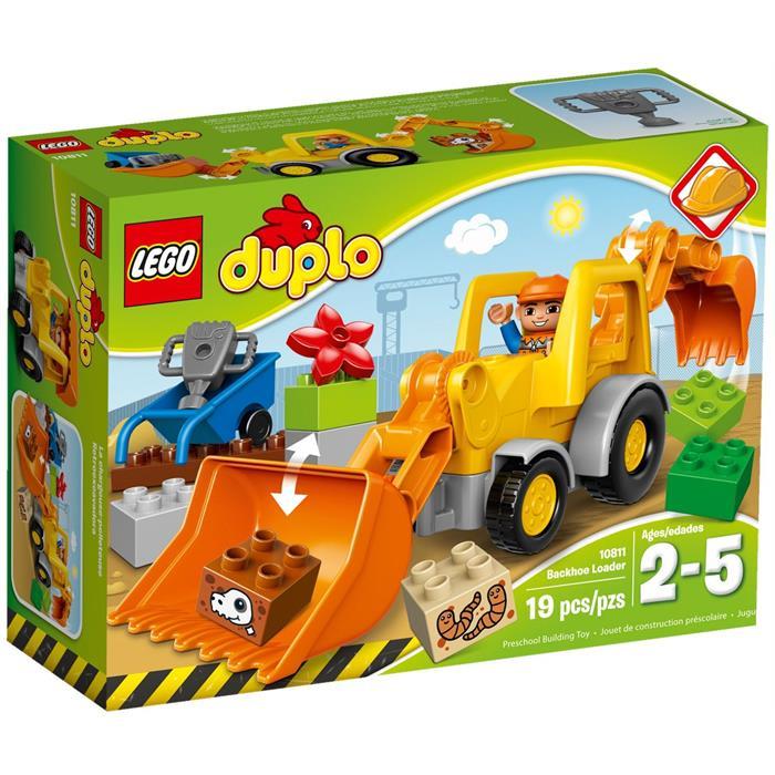 Lego Duplo Ters Kepçe Yükleyici