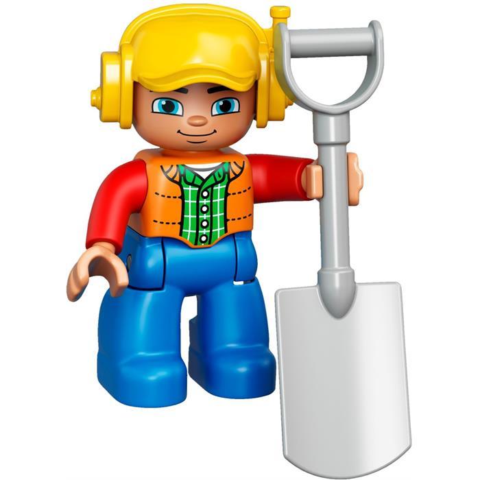 Lego Duplo Kamyon ve Paletli Kazıcı