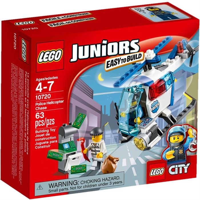 Lego 10720 Juniors Police Helicopter Chase