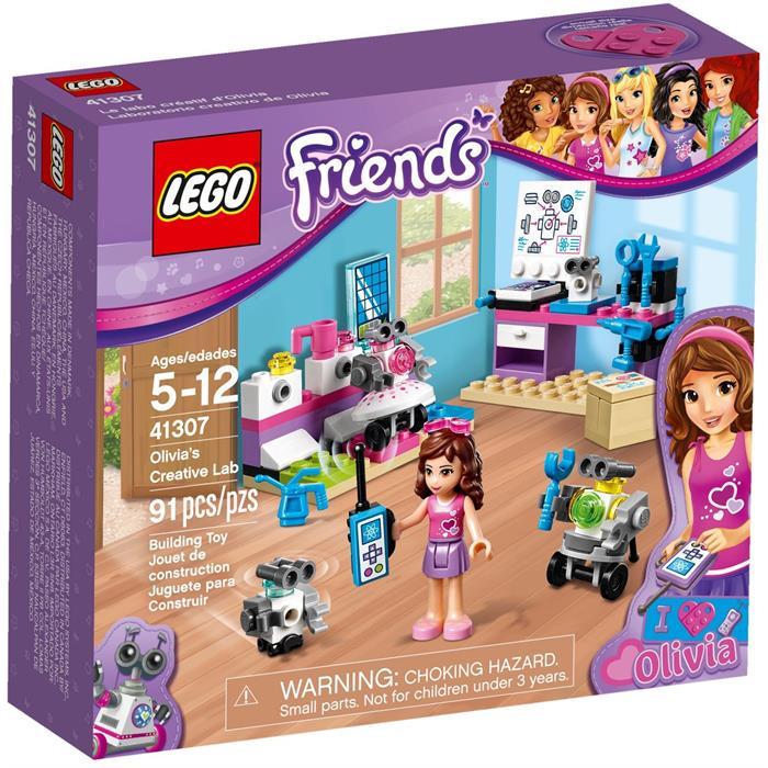 Lego 41307 Friends Olivia'nın Yaratıcı Laboratuvarı