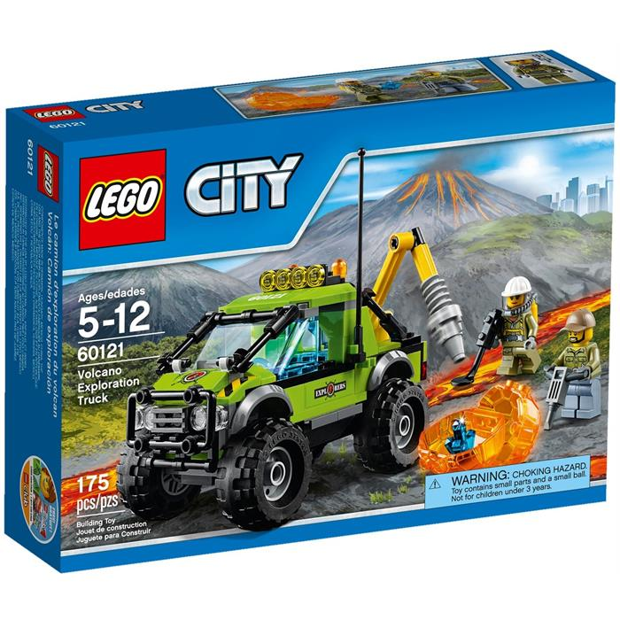 Lego 60121 City Volkan Keşif Kamyonu