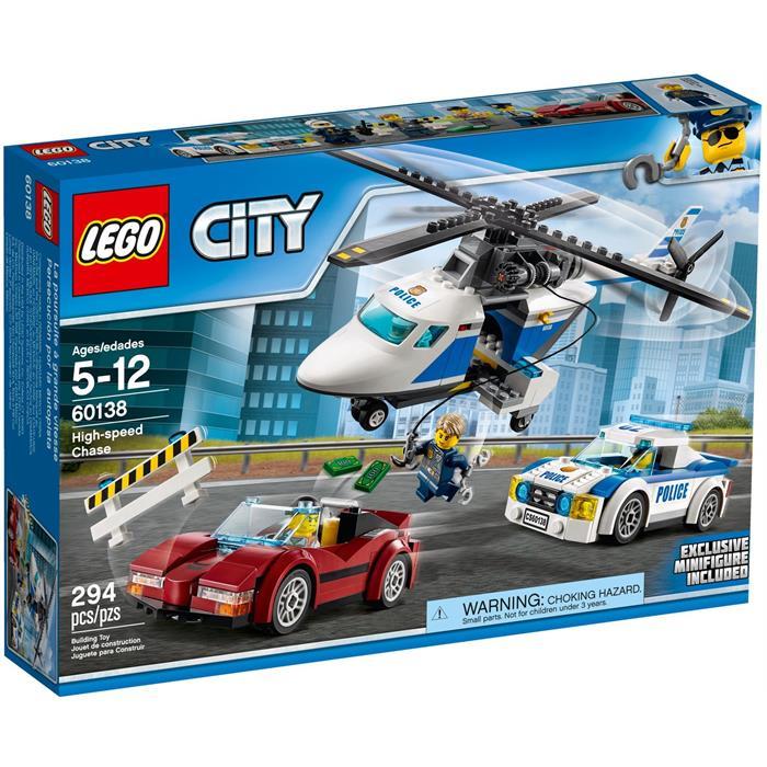 Lego 60138 City Yüksek Hızlı Takip