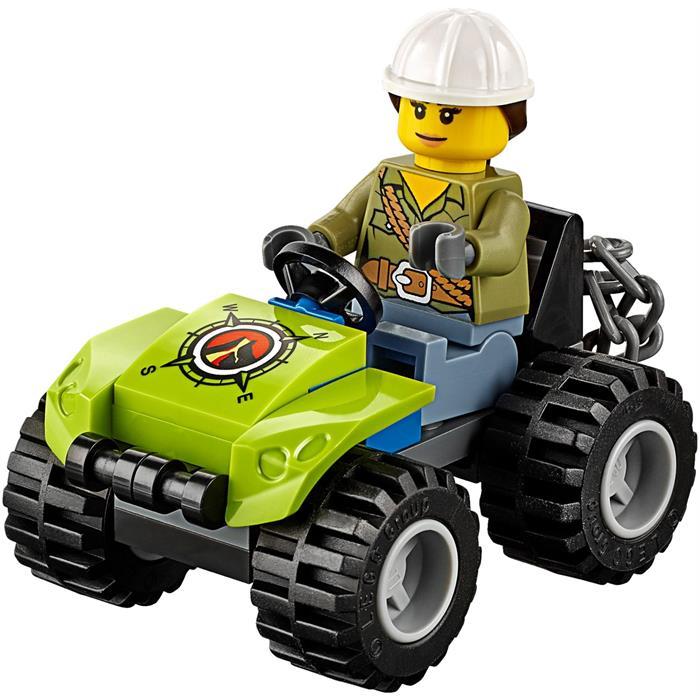 Lego 60122 City Volkan Paletli Aracı