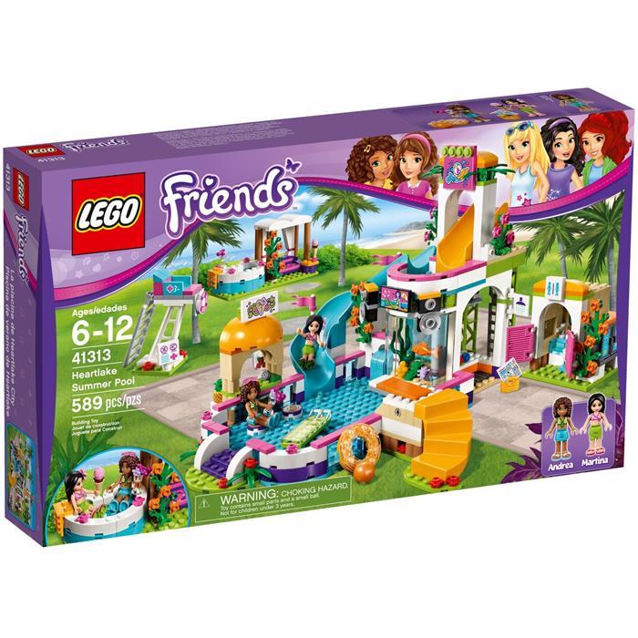 Lego 41313 Friends Heartlake Yaz Havuzu