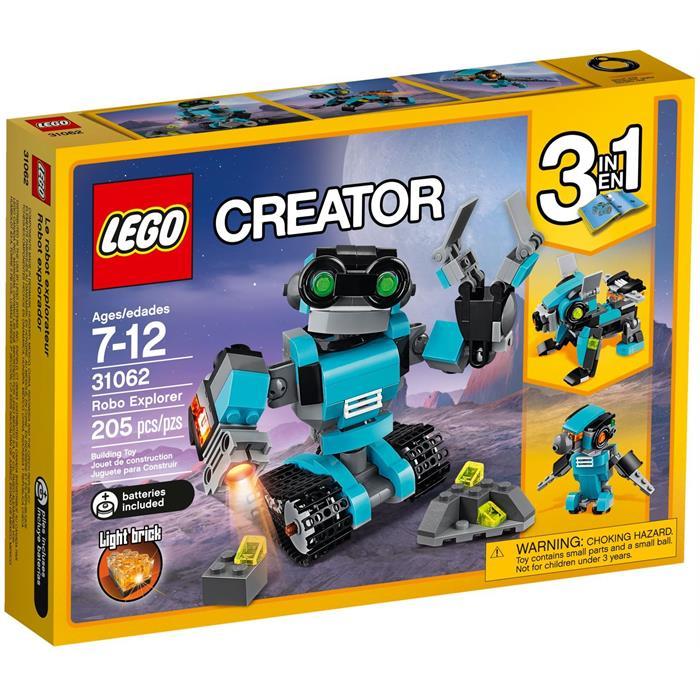 Lego 31062 Creator Robot Kaşif