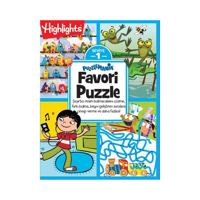 Puzzlemania Favori Puzzle 4'lü Set