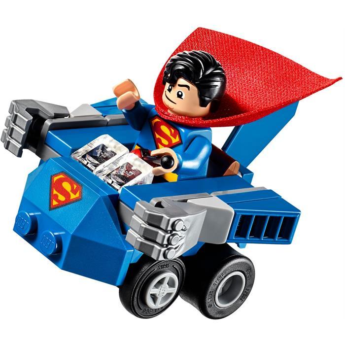 Lego 76068 Super Heroes Mighty Micros Superman Bizarro'ya Karşı
