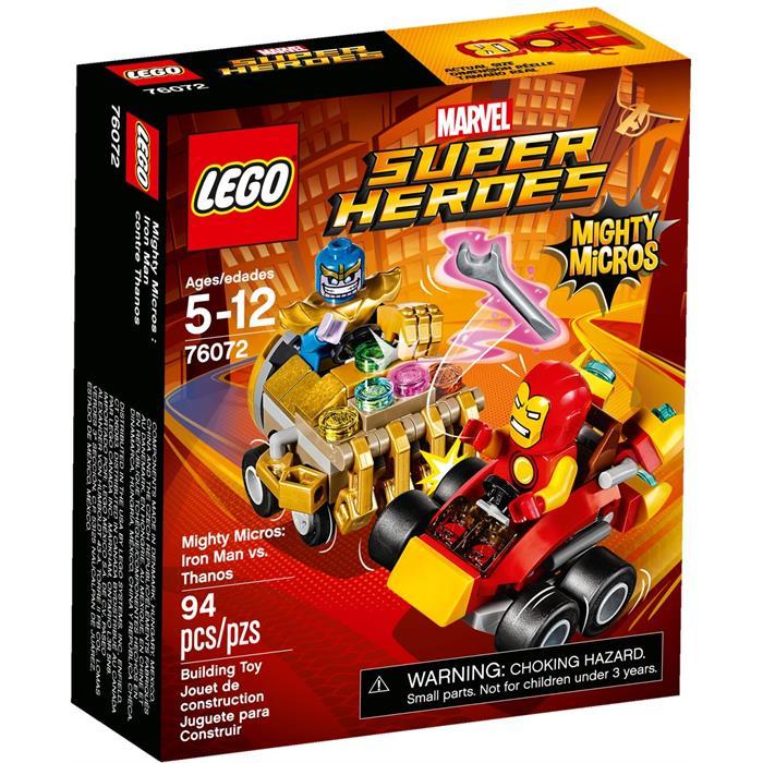 Lego 76072 Super Heroes Mighty Micros Iron Man Thanos'a Karşı