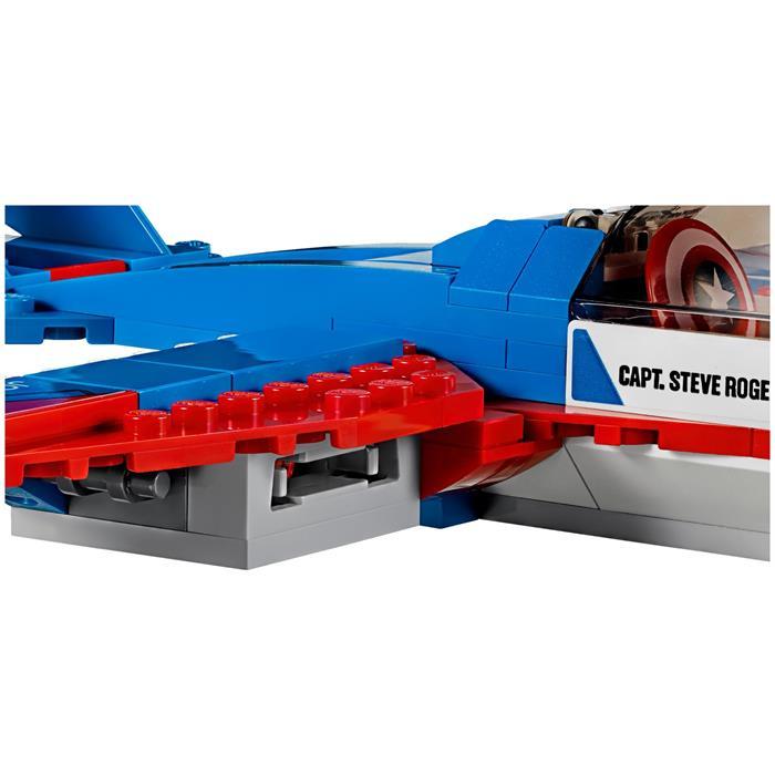 Lego 76076 Super Heroes Captain America Jet Takibi