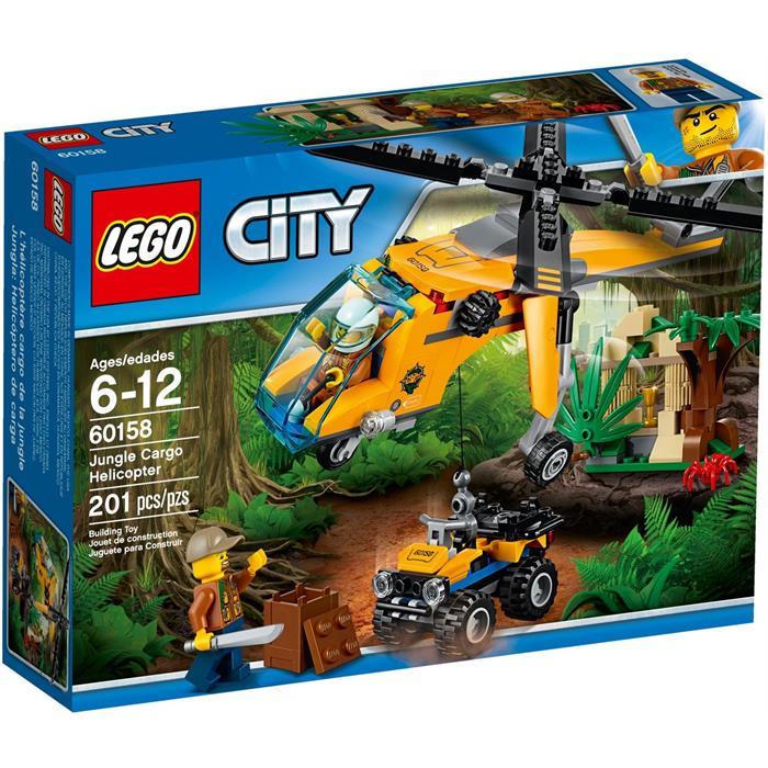 Lego 60158 City Orman Kargo Helikopteri