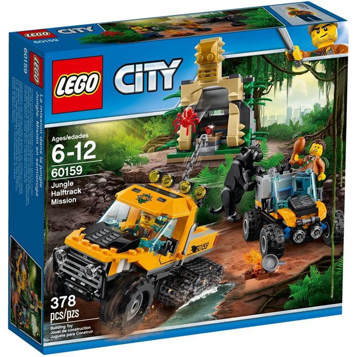 Lego 60159 City Orman Yarı Paletli Ekip