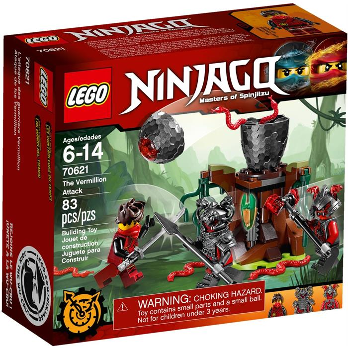 Lego 70621 Ninjago Vermillion Saldırısı