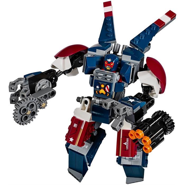 Lego 76077 Super Heroes Iron Man Detroit Steel Saldırısı