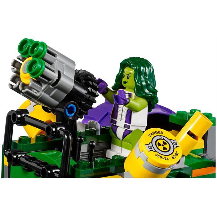 Lego 76078 Super Heroes Hulk, Red Hulk'a Karşı