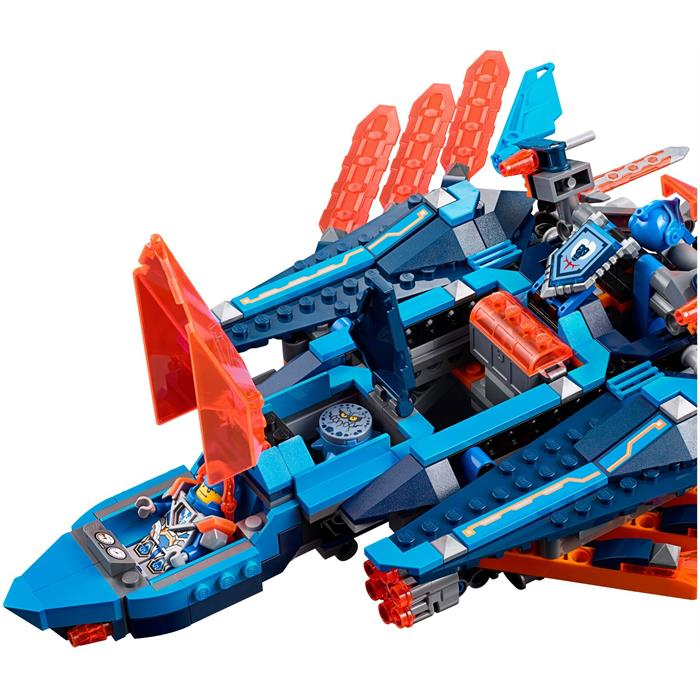 Lego 70351 Nexo Knights Clay'in Falcon Avcı Uçağı