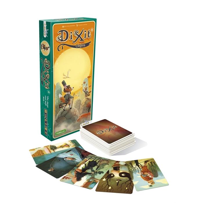 Asmodee DiXit 4 Origins (Kökler Kartları)