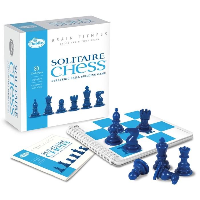 ThinkFun Tek Kişilik Satranç (Brain Fitness-Solitaire Chess)