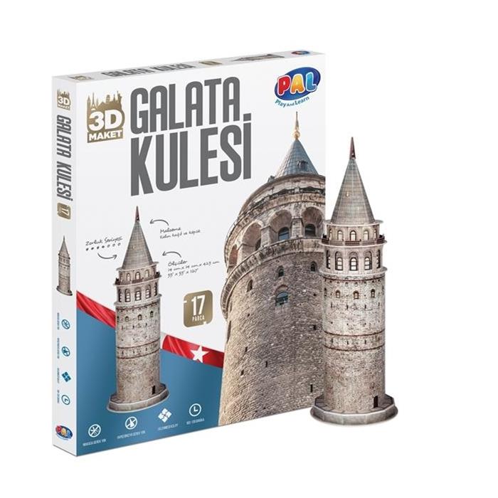PAL Galata Kulesi 3D Puzzle