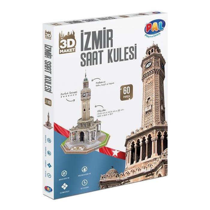 PAL İzmir Saat Kulesi 3D Puzzle