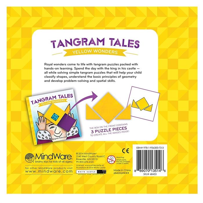Mindware Tangram Tales - Yellow Wonders